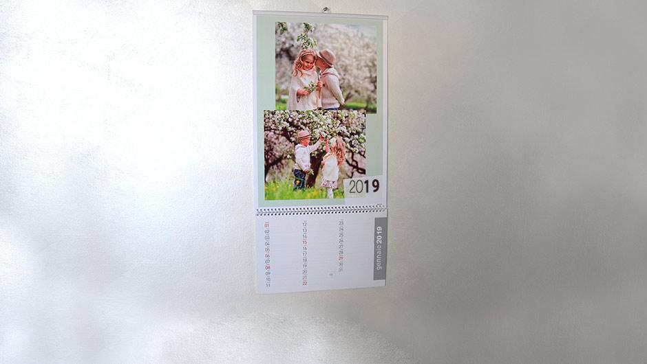 Calendario 2020 Semestrale Bianco.Calendari Personalizzati Con Le Tue Foto Fotoservice It