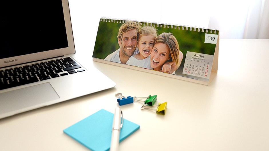 Stampa calendari online personalizzati su - Calendari da tavolo personalizzati ...